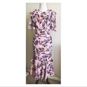 Keepsake Floral Midi Dress